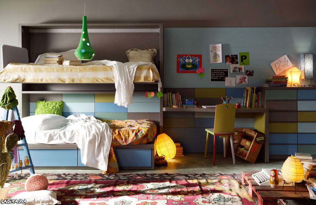 Lagrama lofthaus for Habitacion juvenil 2 camas