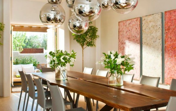 Light fittings for dining