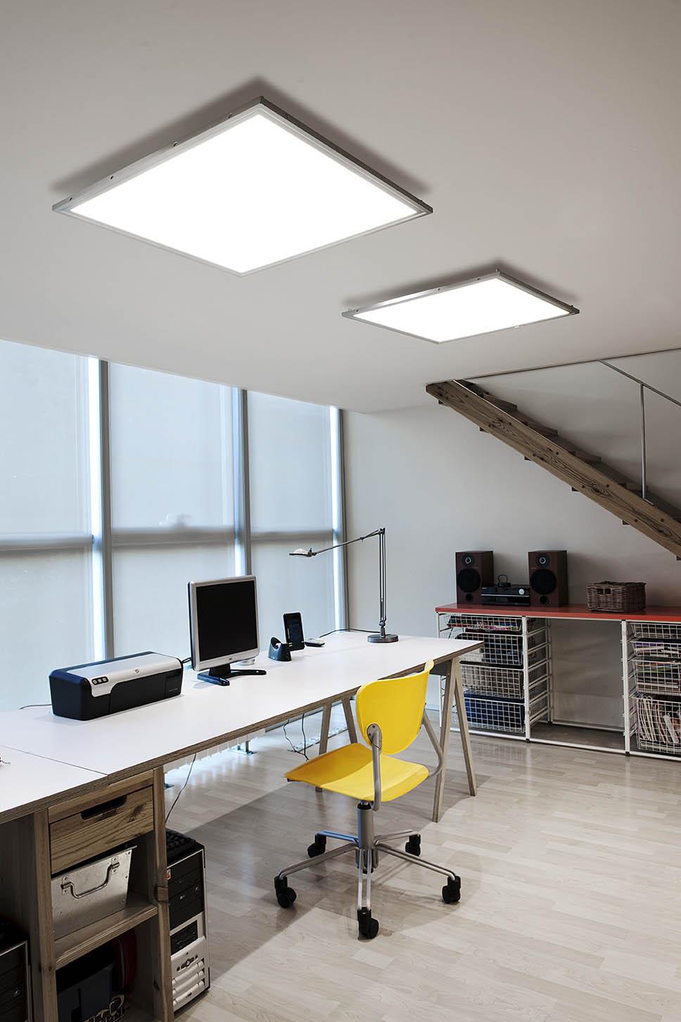 Pujol lofthaus for Iluminacion led oficinas