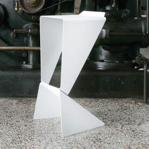 icon-design-stool-in-white-varnished-aluminum